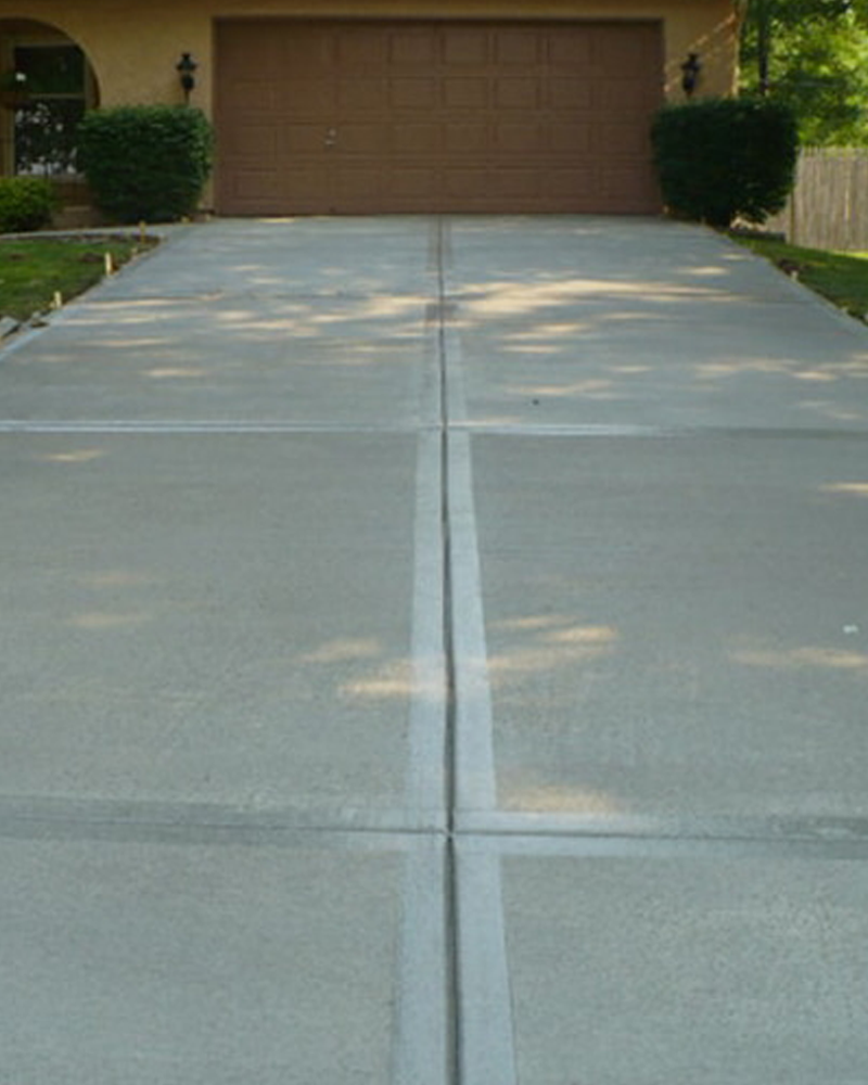 Traditional Concrete Driveways St. Louis